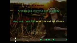 Christian Kane   Let Me Go (Karaoke)
