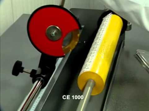 Станок для продольной резки печатной фольги