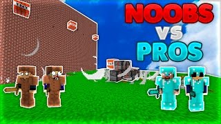 NOOBS vs PROS | TNT Wars