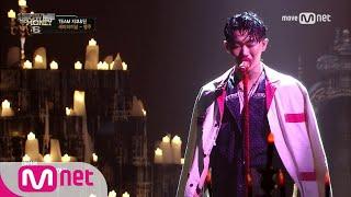 show me the money6 [9회/단독] 행주 - Red Sun (feat. 스윙스) @ 세미파이널 170825 EP.9