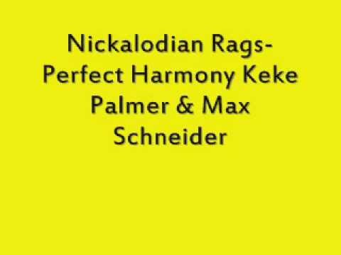 Rags Perfect Harmony Featuring Keke Palmer and Max Schneider Lyrics
