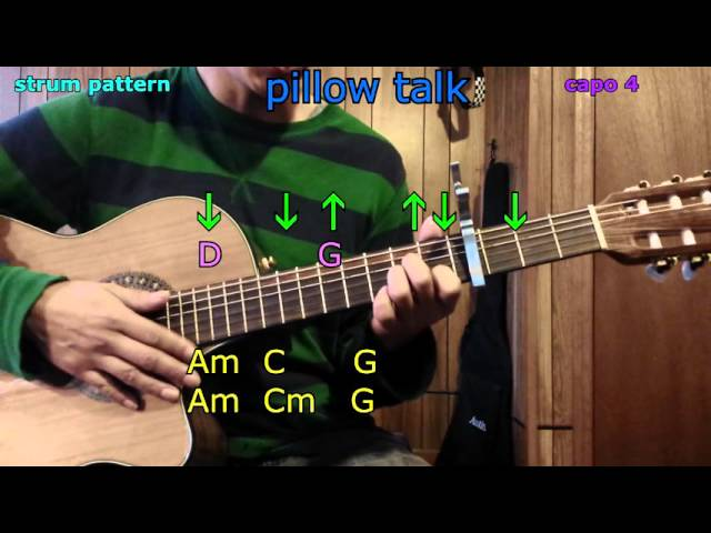 Pillow Talk Zayn Malik Guitar Chords | AllMusicSite.com