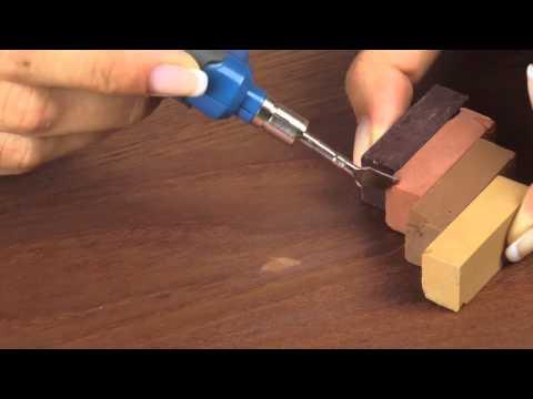 Massivholz reparieren, Reparaturset  für Holz Oberflächen
