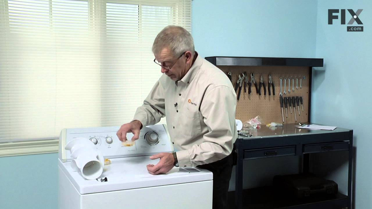 Replacing your Whirlpool Washer Agitator Cam Kit