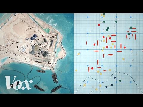 Proč Čína buduje ostrovy v Jihočínském moři - Vox