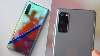 Samsung Galaxy S20 vs Samsung Galaxy Note10 - A Tough Decision!