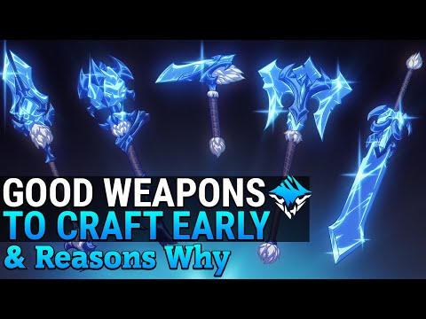 Dauntless Beginner Weapon Guide - Good Weapons to Craft Early - Dauntless Patch 0.8.0