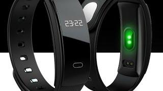 """Смарт фитнес-браслет Diggro QS90 (голубой) от компании """"Магазин Все, Что Нужно"""" - видео"""
