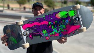 BLACKLIGHT REISSUE SERIES PRODUCT CHALLENGE! | Santa Cruz Skateboards