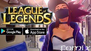 LoL официально выйдет на телефон! League of Legends от Tencent (Android Ios)