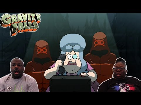 Gravity Falls 2x7 REACTION! { Society of the Blind Eye}