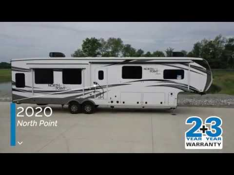 2020 Jayco North Point Fifth Wheels