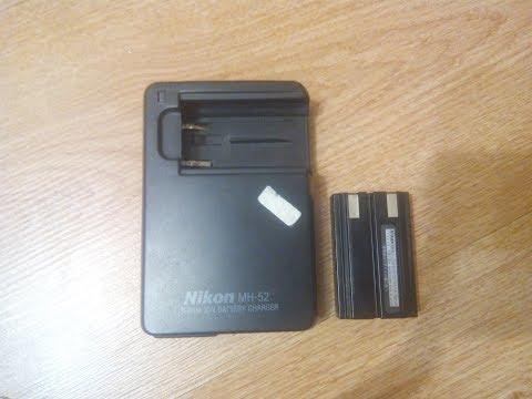 Ремонт зарядки фотоаппарата Nikon