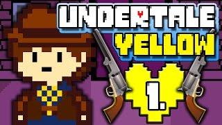 UNDERTALE's Prequel! Undertale Yellow Gameplay #1 | UNDERLAB