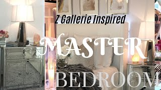 Z GALLERIE INSPIRED ||LUXURY BEDROOM TOUR || LOOK 4 LESS