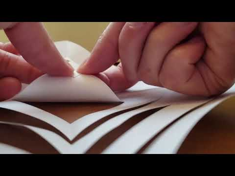 Crafterdark/Crafternoon December 2019: 3D Paper Snowflakes