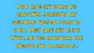 Sin Ti No Vivo-Tierra Cali *Lyrics*