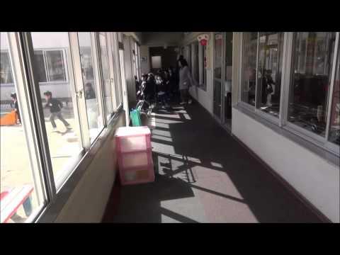 ともべ幼稚園「地震避難訓練」