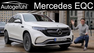 Mercedes EQC FULL REVIEW - how does it match Tesla X and Audi e-tron in driving?