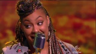 Raven-Symoné - 'Girl Put Your Records On' Live on The View! #ViewKaraoke