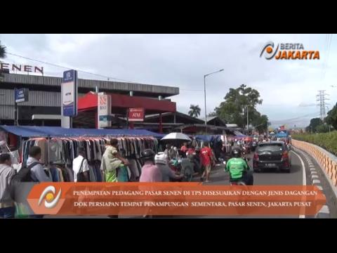 Penempatan Pedagang Pasar Senen di TPS Sesuai Jenis Dagangannya
