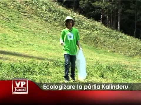 Ecologizare la pârtia Kalinderu