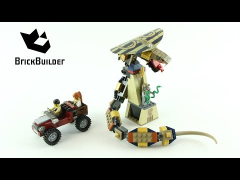 Vidéo LEGO Pharaoh's Quest 7325 : La statue maudite du cobra