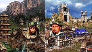 #256. HoMM 3. Armag [Оплот, Киррь] vs Jaaa [Замок, Сэр Мюллих]. Jebus Cross