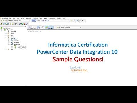 03 Sample Questions! Informatica PowerCenter Specialist ...