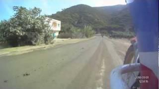 preview picture of video 'Maroc, jour 1: Route en travaux entre Tetouane et Oued Laou'