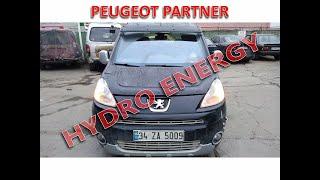 Peugeot Partner hidrojen yakıt sistem montajı