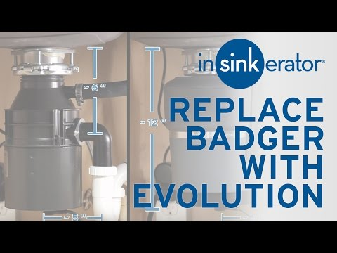 How To: Replace Badger Garbage Disposal with Evolution Compact