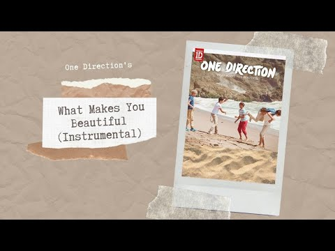 one direction - what makes you beautiful (instrumental)