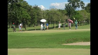 "Marapara Golf Course in Bacolod, Negros Island Philippines  ""Air Golf"" with Mike Philippine!!"