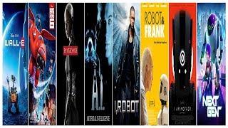 Лучшие фильмы про роботов / The best robot movies