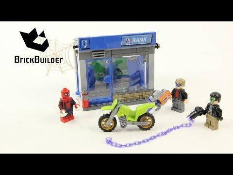 Vidéo LEGO Marvel Super Heroes 76082 : Le braquage de banque