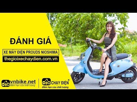 Dánh giá xe máy điện Prouds Nioshima