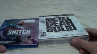Metal Gear Solid The Legacy Collection & Snitch BluRay Unboxing