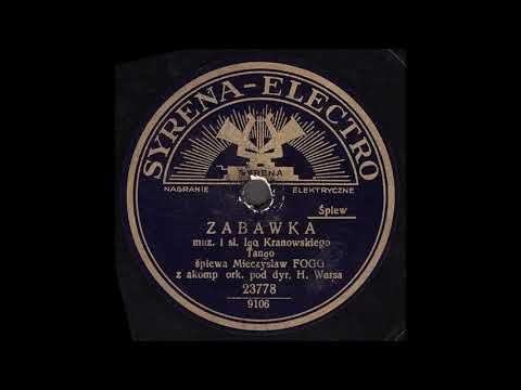 Mieczysław Fogg - Zabawka (Tango)