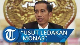 Ledakan di Monas, Respons Presiden Jokowi Minta Polisi Usut Tuntas