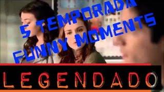 Teen Wolf Season 5 Funny Moments [Legendado]