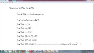 SAP HANA 2.0 SPS03 :Administration || HA200 ||-DAY1|| Difference Between S/4 HANA &S4 HANA