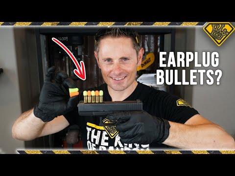 Are EARPLUG Bullets a Good Idea?