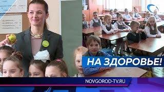 Министр здравоохранения Антонина Саволюк пообщалась со школьниками о здоровом питании и образе жизни