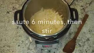 Gambar cover Instant Pot French Onion Soup