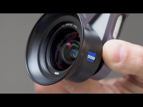 Red35 Review: THE BEST iPhone lenses by Zeiss (ExoLens® Pro)!!