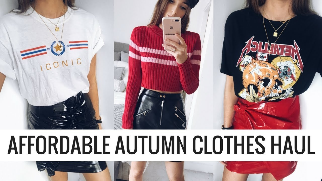 AFFORDABLE AUTUMN FASHION HAUL | ASOS, PLT,  SHEIN, URBAN OUTFITTERS | CIARA O DOHERTY