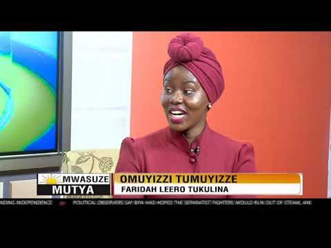Yiino emboozi ya Faridah Nakazibwe akusomera amawulire ku
