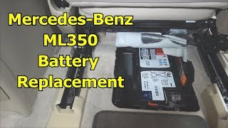 Mercedes ML350 Battery Replacement - The Battery Shop