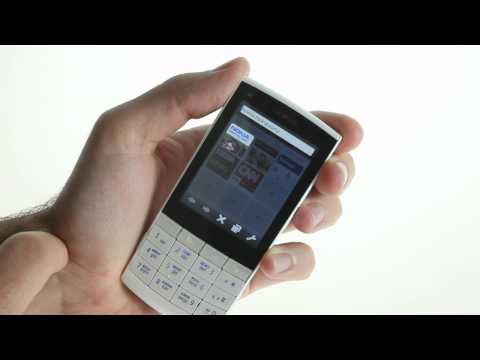 Nokia X3-02 Touch and Type User Interface demo